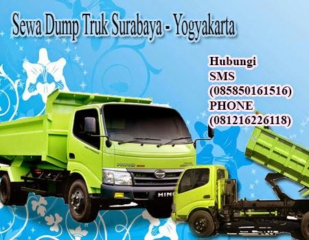 Sewa | Carter Dump Truk Surabaya - Yogyakarta