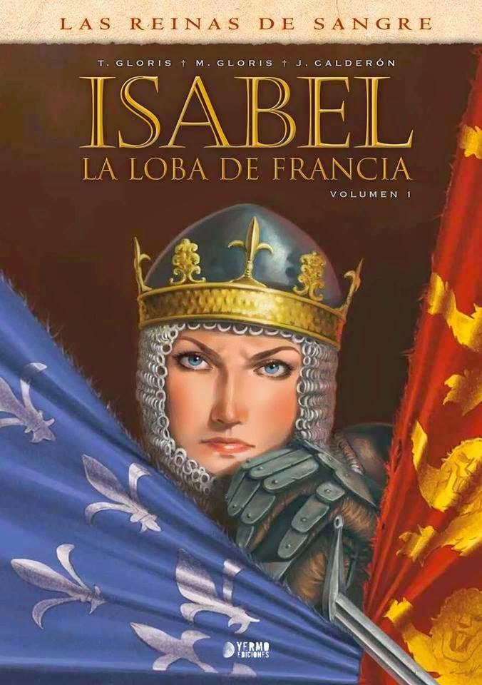 isabel la loba de francia comic