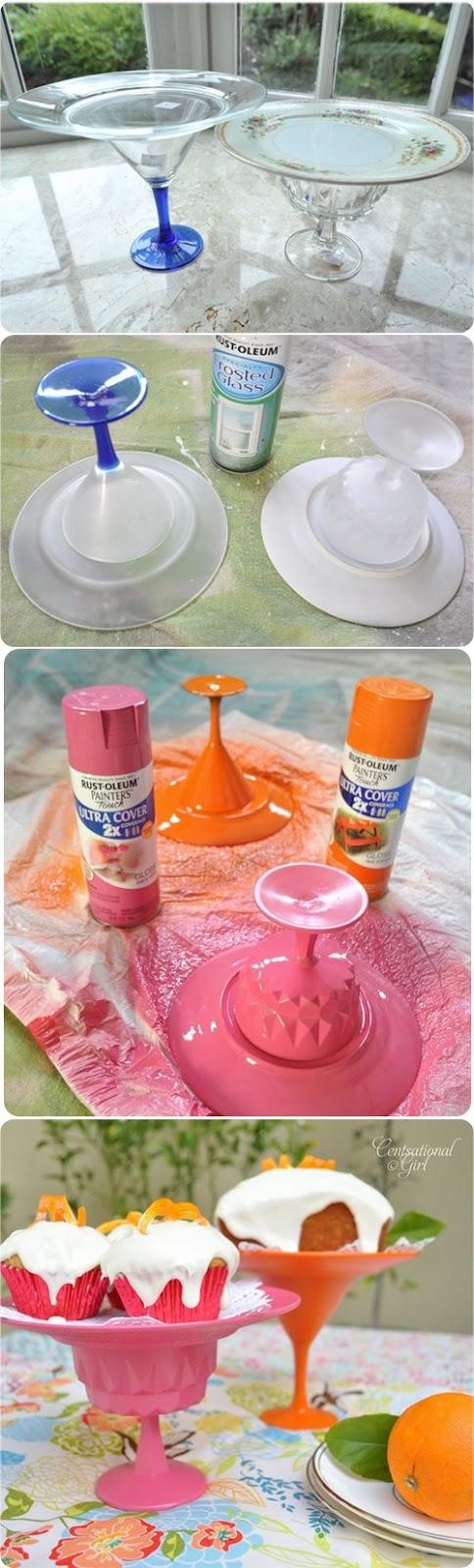 Handmade cupcake holder