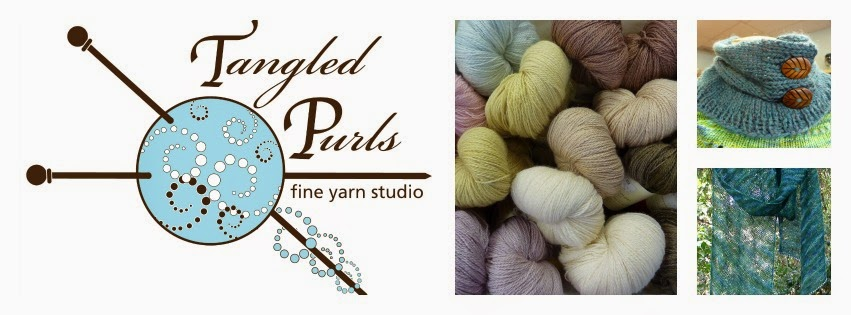 Tangled Purls, fine yarn studio