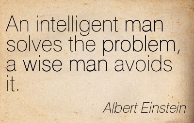 what Einstein said