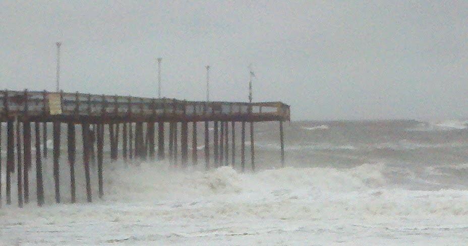 Salisbury news hurricane sandy damages pier in ocean city for Ocean city md fishing pier