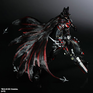 Square Enix Play Arts Kai DC Variant Batman Previews Exclusive Special Color Version Figure