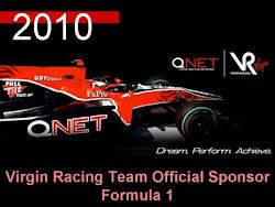2010 QNet is Virgin Racing Team Official Sponsor Formula 1