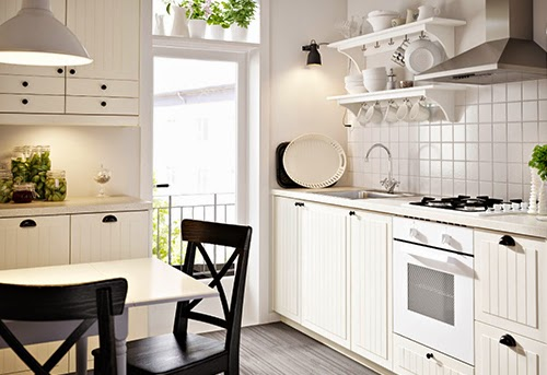 Modular Kitchen White