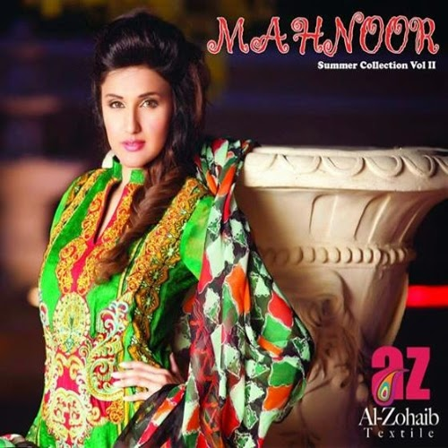 Mahnoor Lawn Vol-2 2014