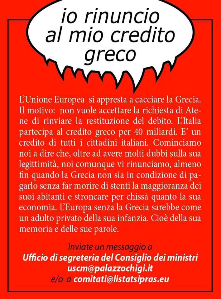 Non c'è Europa senza la Grecia