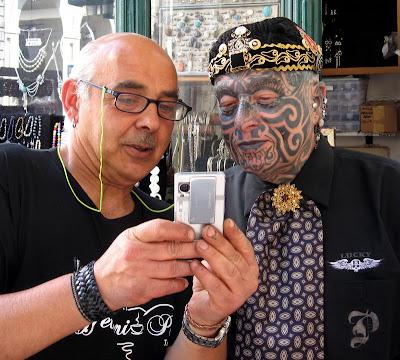 Selfie Angelo Tattoo Torino
