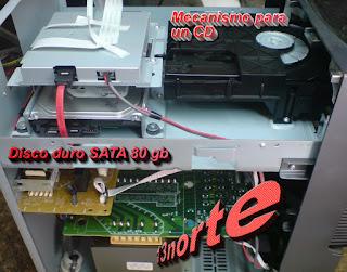 HCD-GTX999 con disco duro