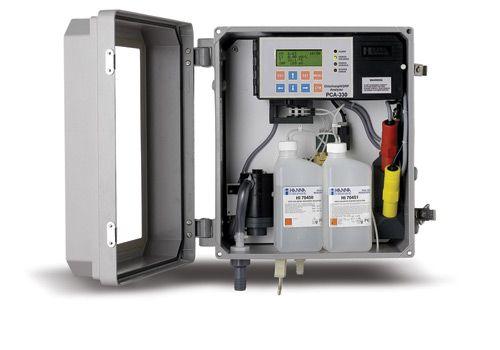 Analizador colorimetrico DPD de cloro en aguas, entre  0 a 5 ppm