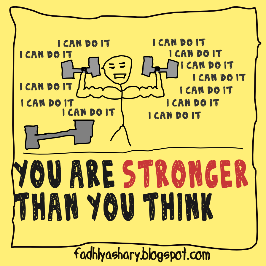 You Are Stronger than You Think Wallpaper