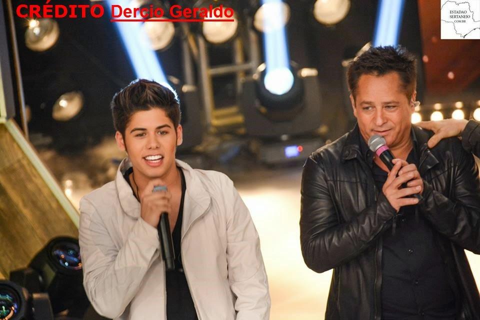 Leonardo e Zé Felipe no programa festival sertanejo 2 /12 / 2014