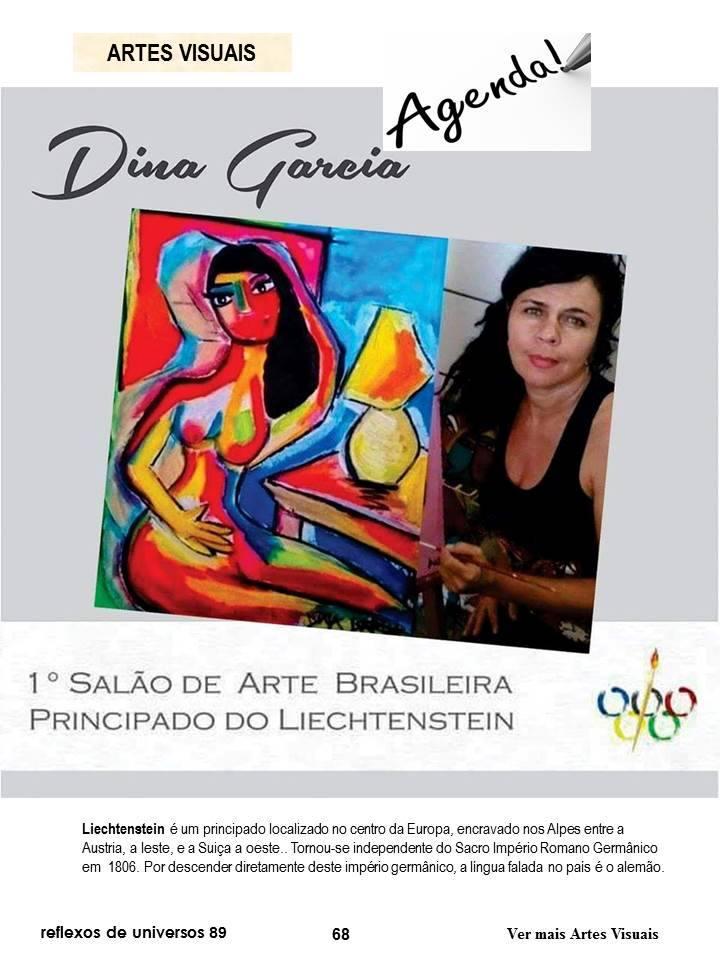 8) Salão de arte Brasileira em Vaduz-Liechtenstein! CURADORA - Angela Oliveira.