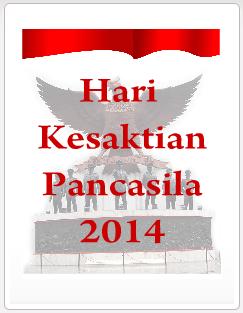 HARI KESAKTIAN PANCASILA 2014