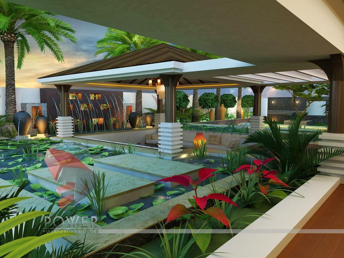 Modern House 3d Interior Design 3d Exterior Rendering
