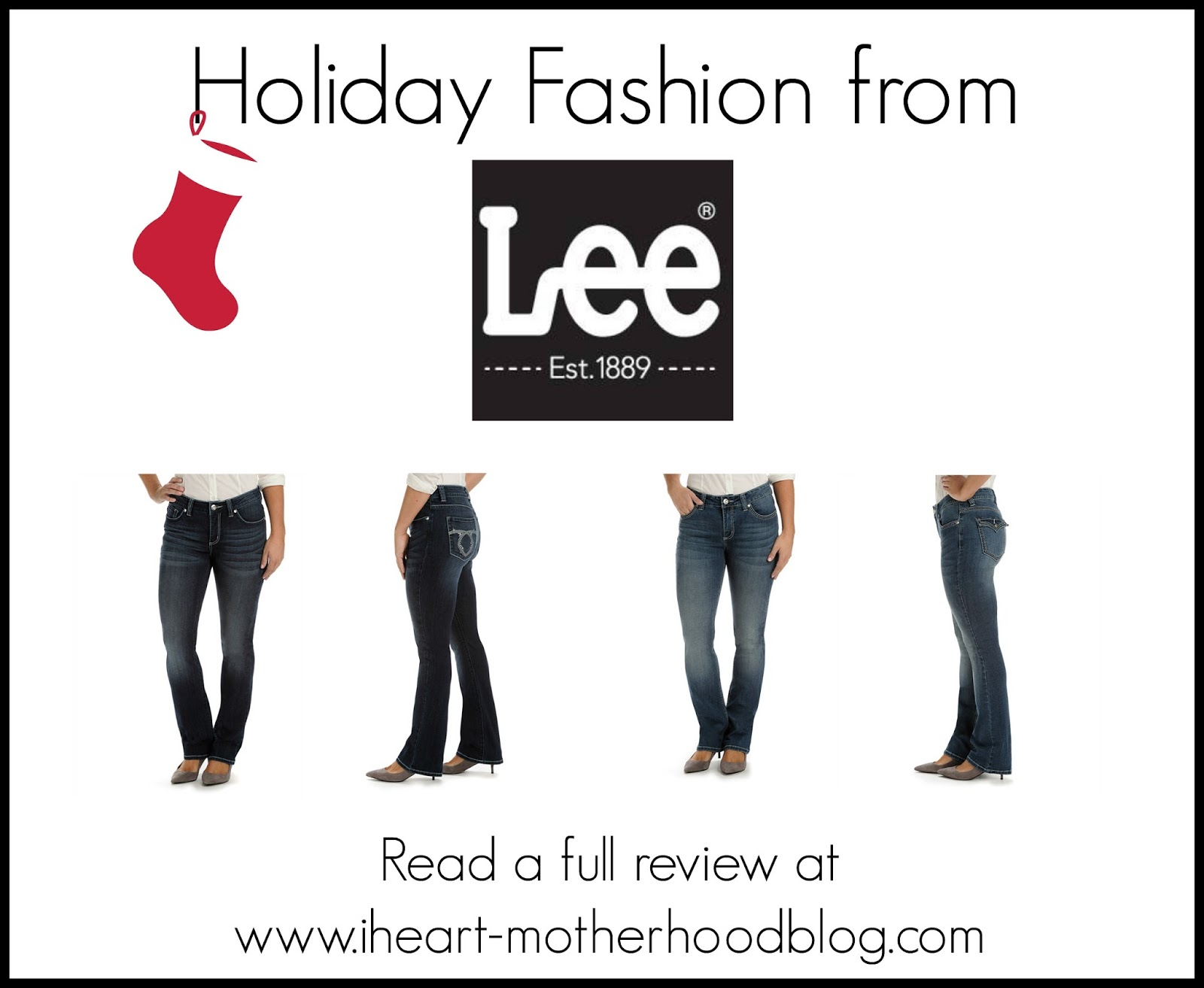 The Story Of Three: Holiday Fashion from Lee Jeans