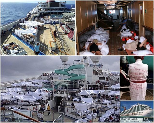 Cruise Ship Stuck At Sea   Fitbudha.com