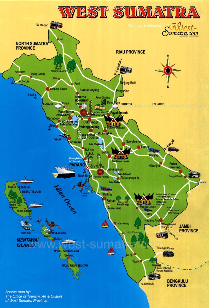 Tempat Wisata Indonesia Bagian Barat
