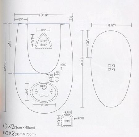 Moldes para hacer zapatitos de goma eva - Imagui