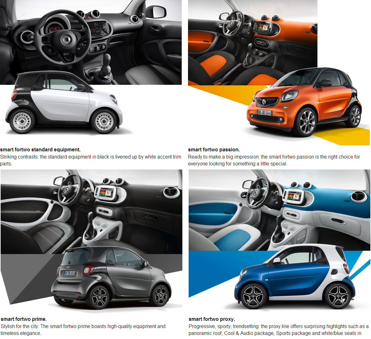 four wheel drive magazine nuevos renault twingo y smart fortwo forfour. Black Bedroom Furniture Sets. Home Design Ideas