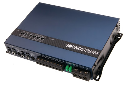 The Soundstream Rubicon Nano amplifier.