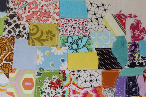 US Scrap Map Tutorial So You Think Youre Crafty - Us map quilt tutorial