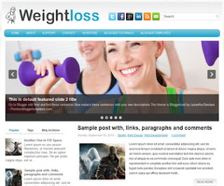 WeightLoss-Blogger-Template