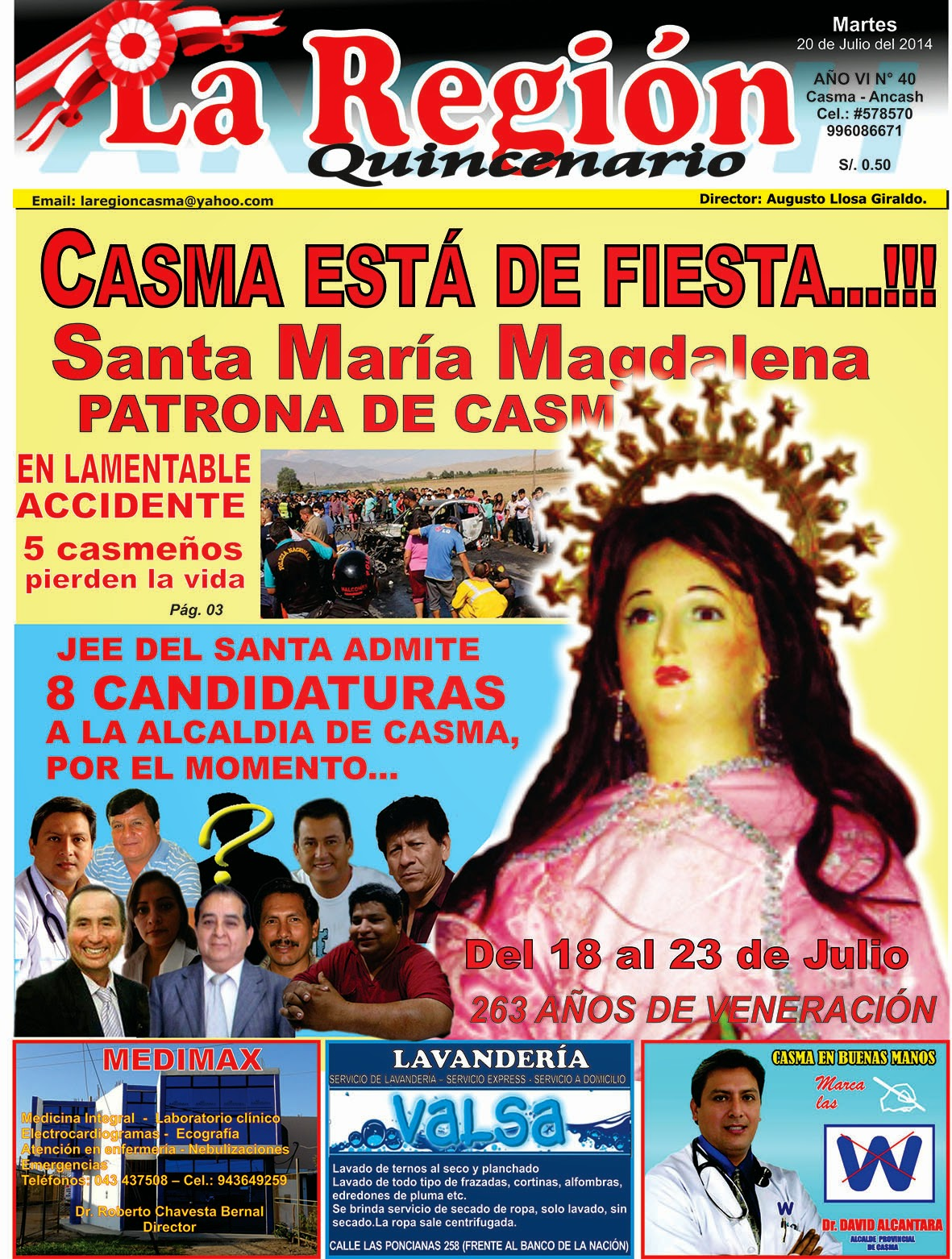 Periódico La Región N° 40