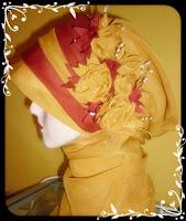 jilbab pesta kuning Contoh Model Jilbab Wisuda Terbaru Dan Cantik