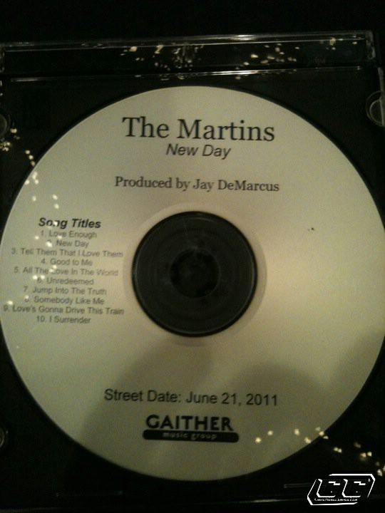 The Martins - New Day 2011 English Christian Album CD Review