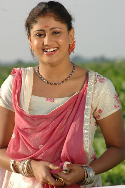 South Actress Amrutha Valli Smiling Pictures