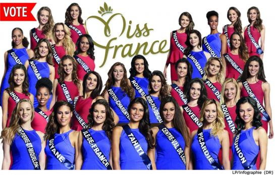 favorites Miss France 2016