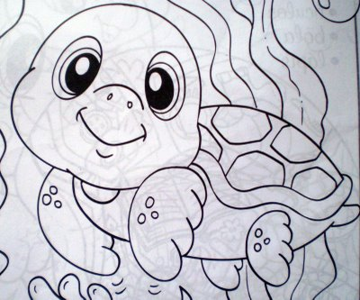 Desenhos de Peixes para colorir, jogos de pintar e imprimir