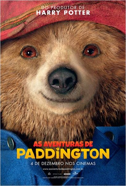 "Poster do filme ""As Aventuras de Paddington"""