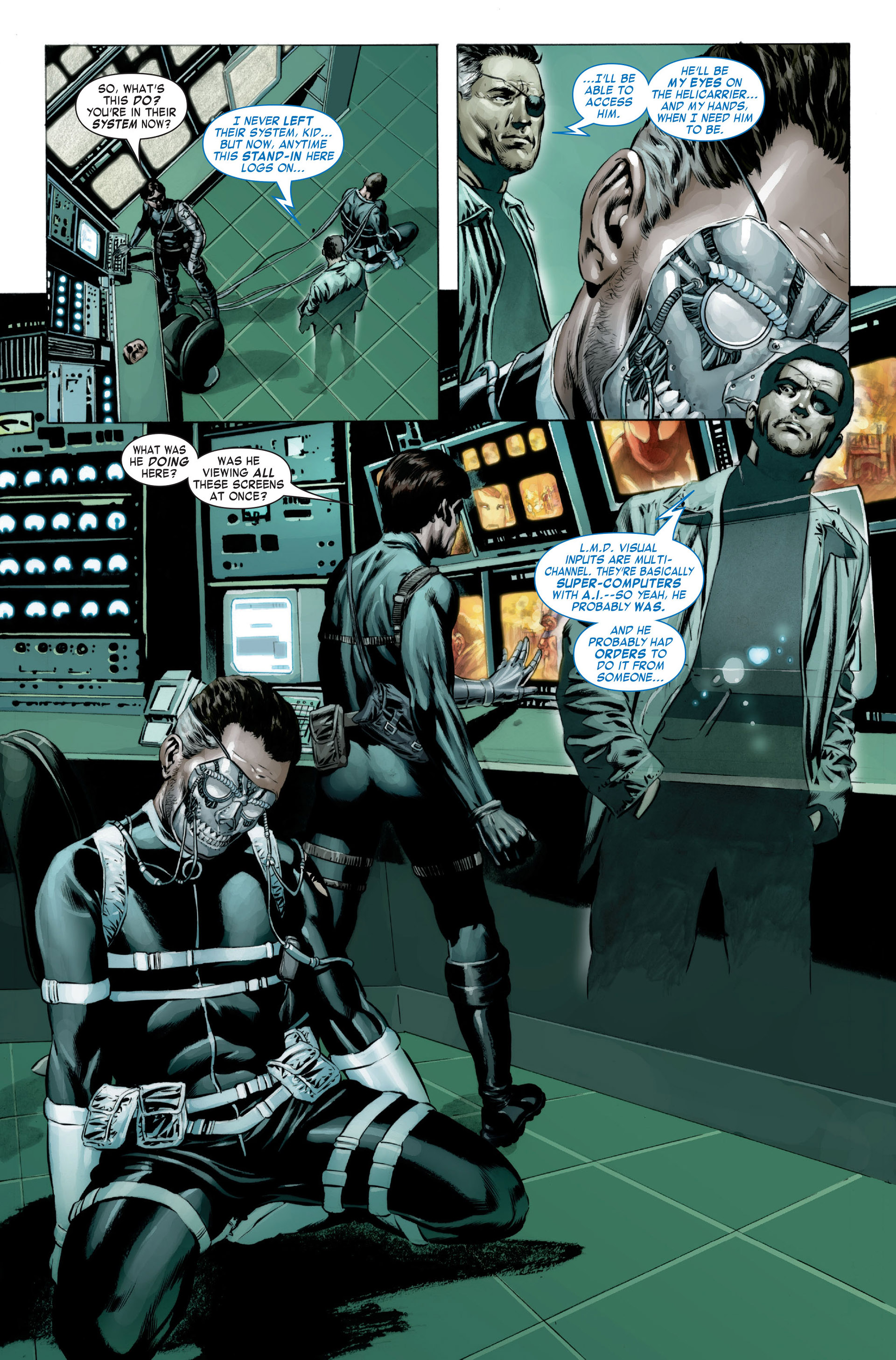 Captain America (2005) Issue #23 #23 - English 8