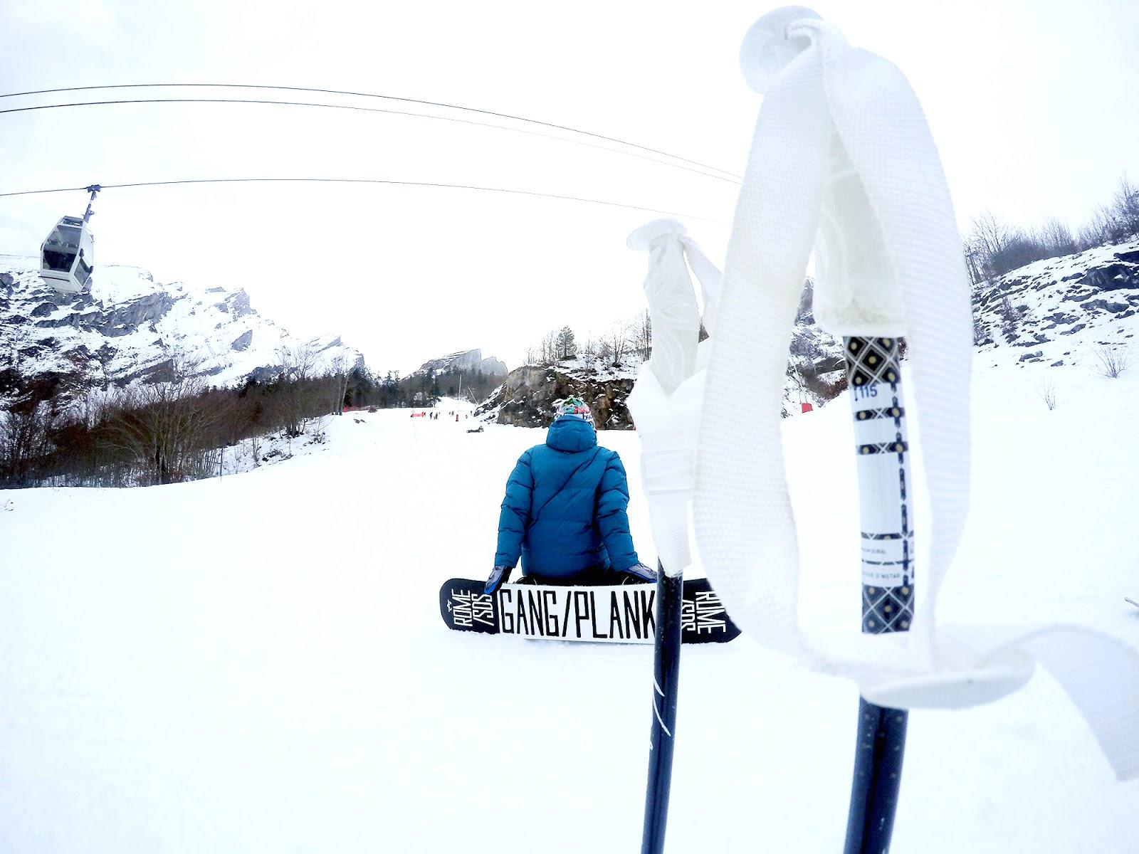 Gourette snowboard