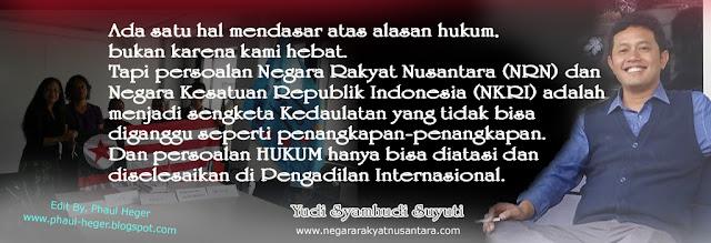 Wali NRN: Mimpi Saya Tentang Nusantara