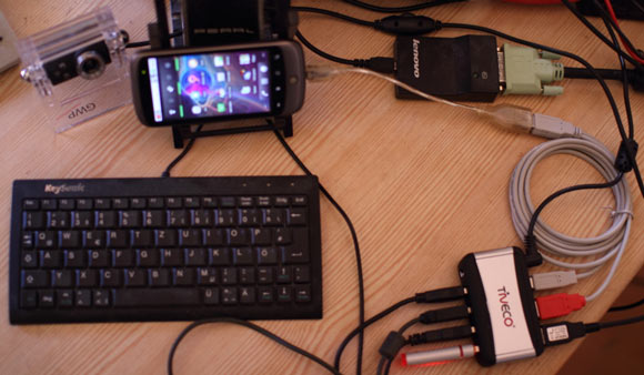 USB Peripheral to Google's Nexus One Android Phone