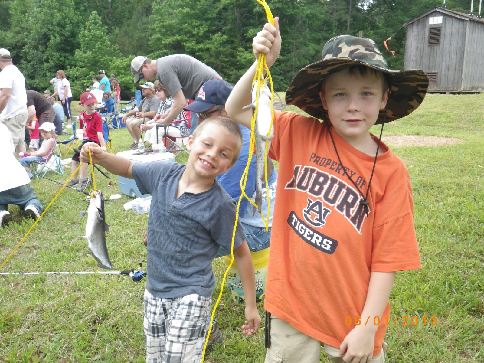 Winston county natural resources council annual kids for Alabama lifetime hunting and fishing license