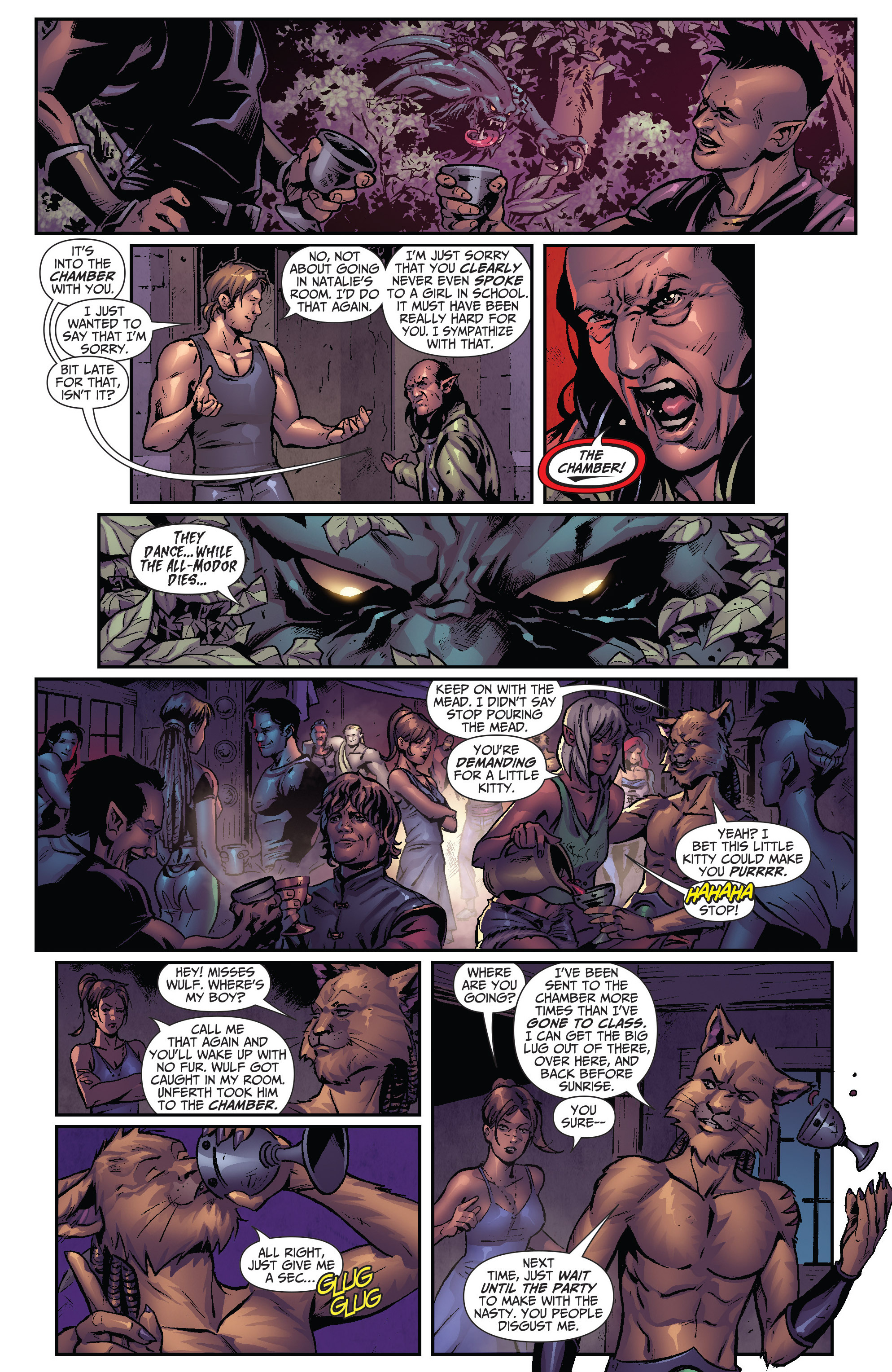 Grimm Fairy Tales (2005) Issue #109 #112 - English 10