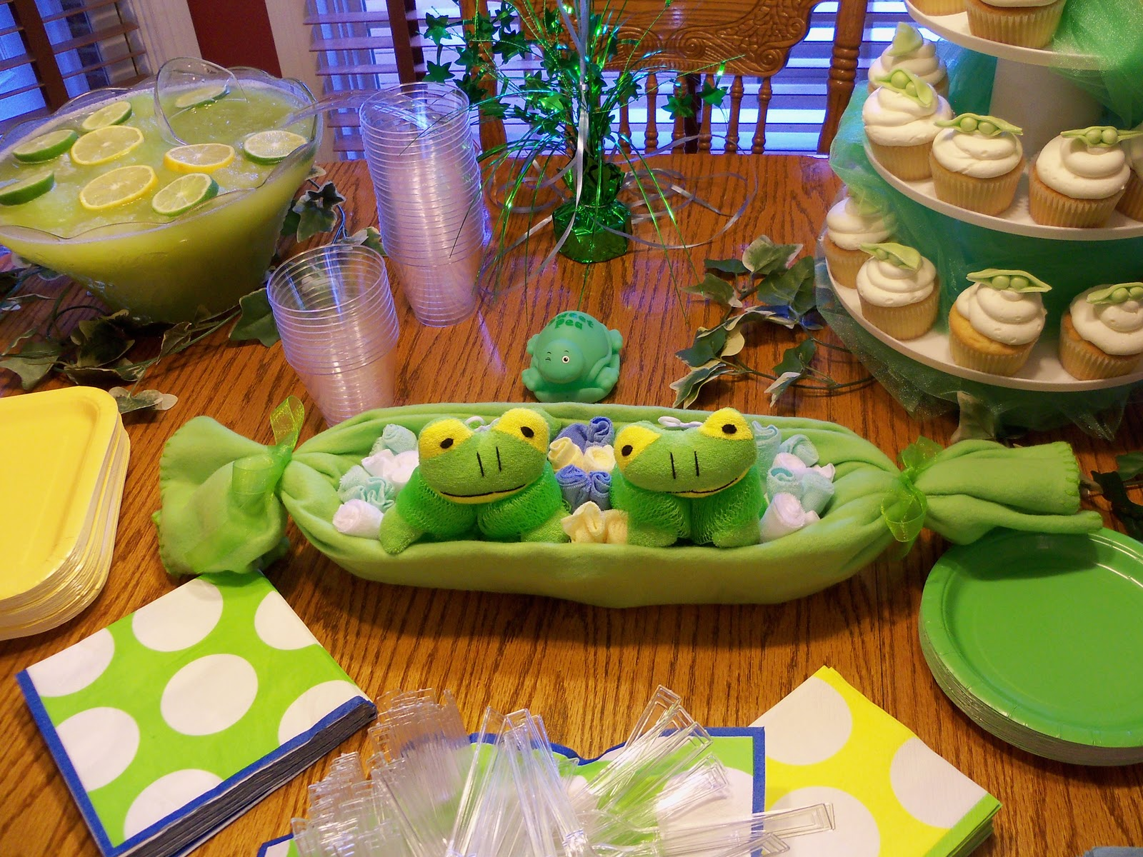 two peas in a pod baby shower at my house