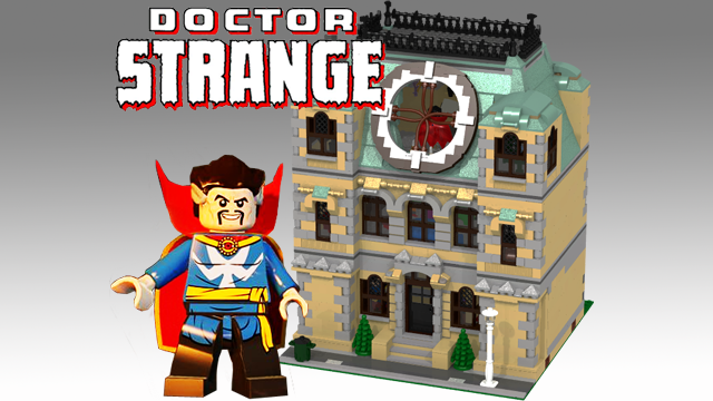 Want One Now This LEGO DOCTOR STRANGE Set Warped Factor