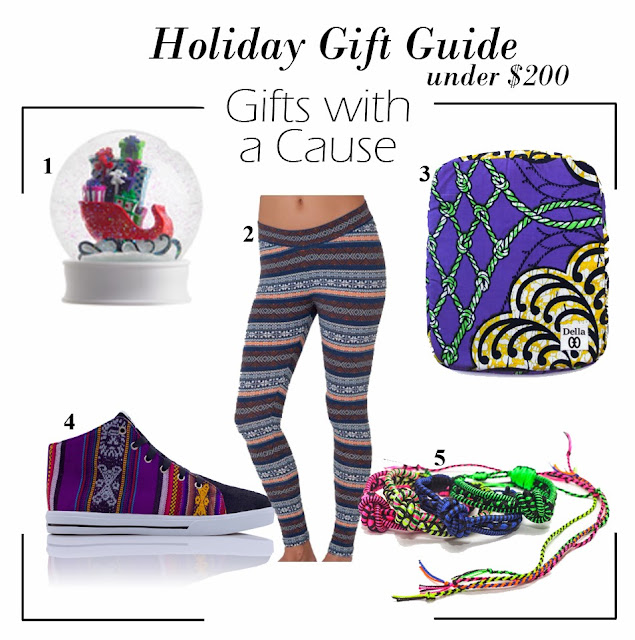 Holiday Gift Guide under $200: Gifts With A Cause