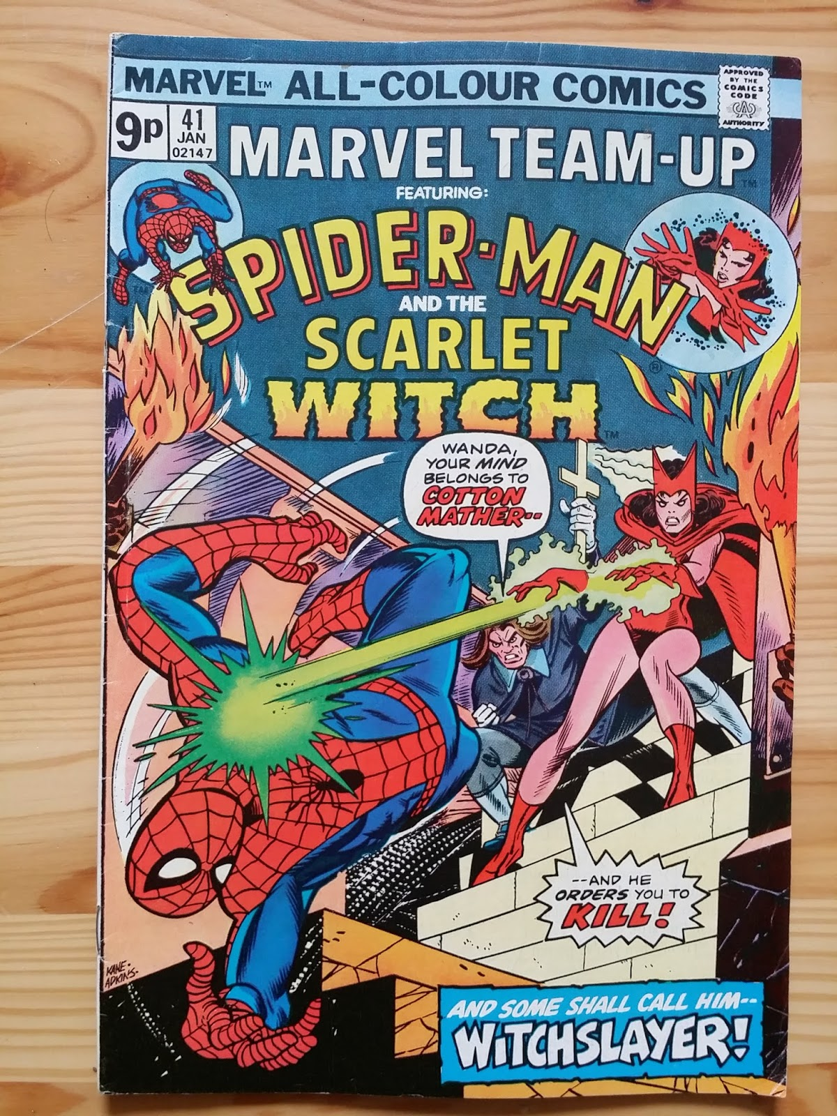 Marvel Team-Up  Spider Man and the Scarlet Witch