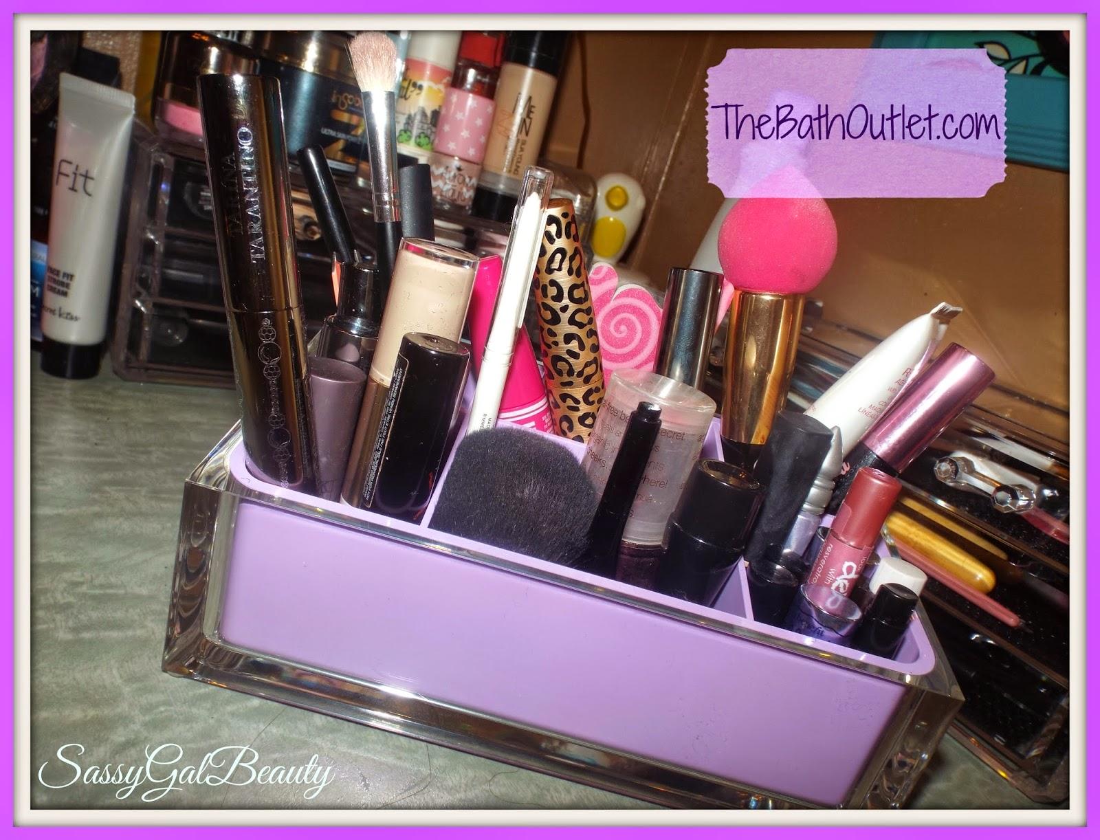 The Bath Outlet: Rainbow Line Makeup Organizer