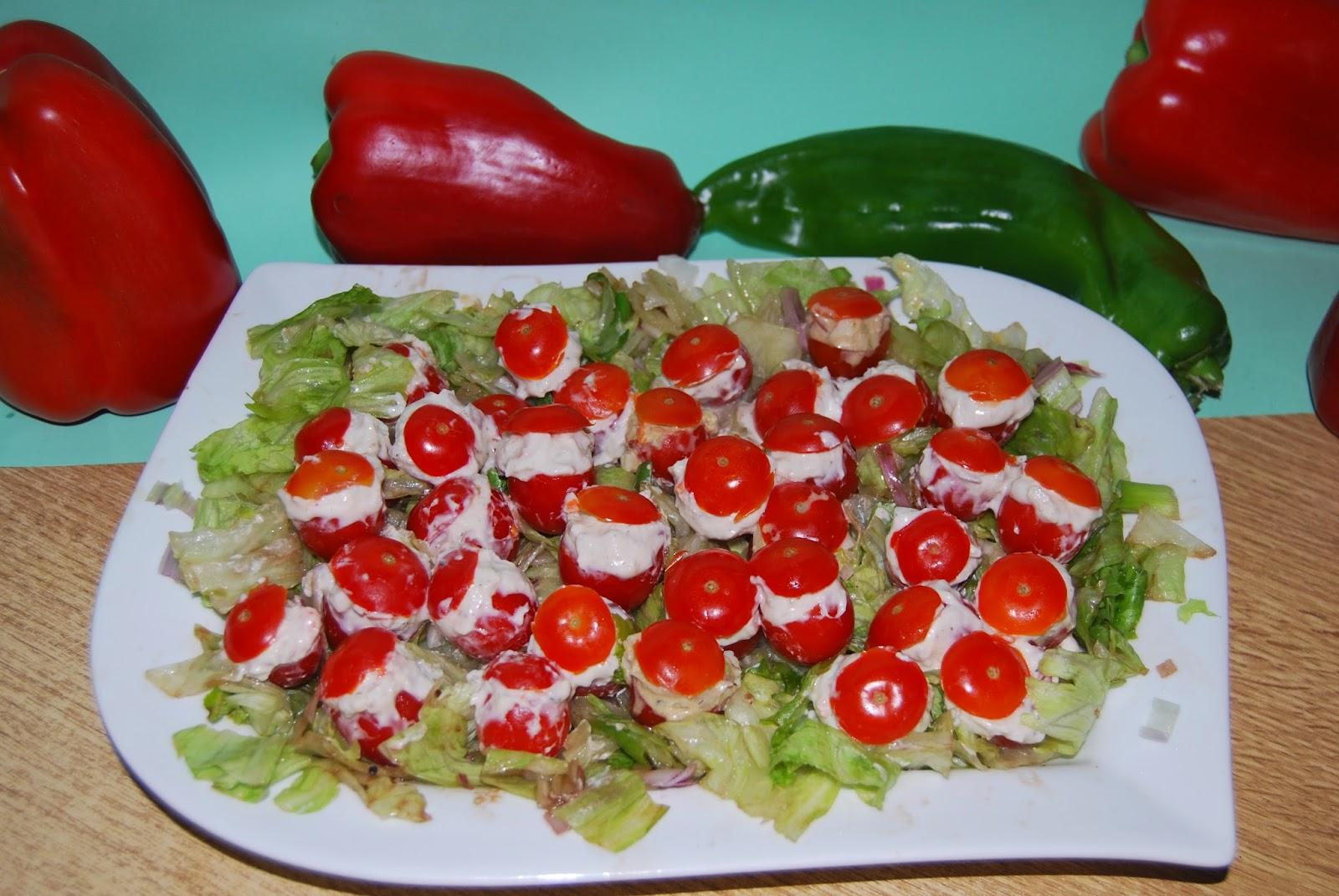 Aprendiz de cocina tomatitos rellenos - Aprendiz de cocina ...