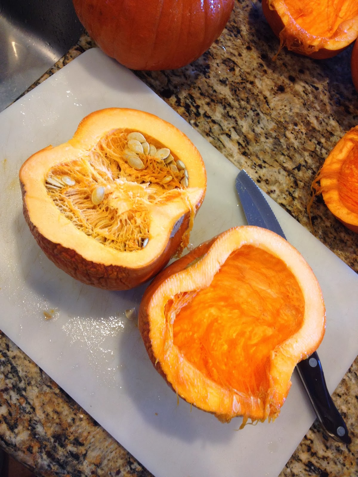 how to cook pumpkin in microwave