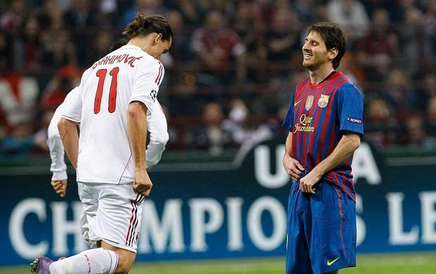 Milan 0 x 0 Barcelona pela Liga dos Campeões