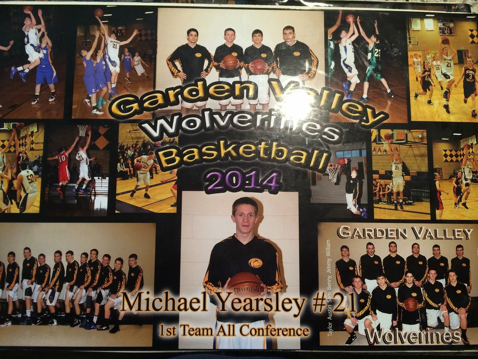 2014 1st Team All Conference
