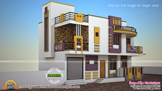 India contemporary house